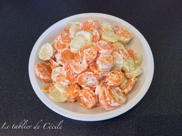 carotte a la creme